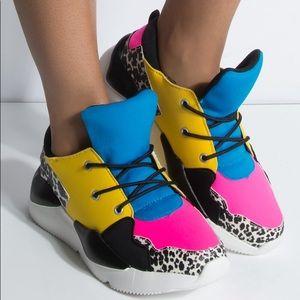 Multi Chunky Sneaker